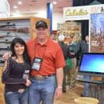 Visting Cabelas at the NRA convention 2013
