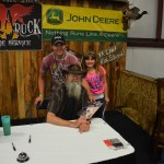 Michael & Kenzie with Uncle Si